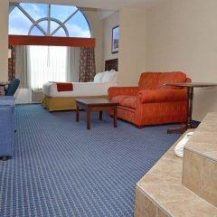 Holiday Inn Express Hotel & Suites Hinton 2* Стандартный номер с различными типами кроватей фото 2