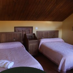 Отель Casa Rural La Oca II 3* Кровать в общем номере с двухъярусной кроватью