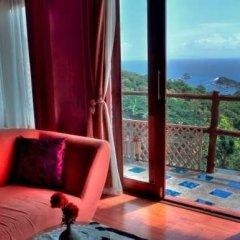 Отель Koh Tao Seaview Resort 3* Номер Делюкс с различными типами кроватей