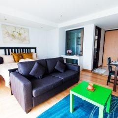 Отель Rocco Huahin Condominium Студия с различными типами кроватей