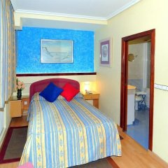 Отель CH Plaza D'Ort Rooms Madrid Улучшенный номер с различными типами кроватей