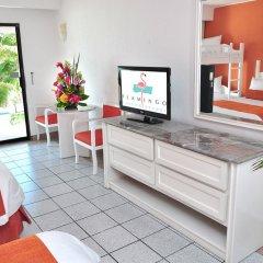 Отель Flamingo Cancun Resort Мексика, Канкун - отзывы, цены и фото номеров - забронировать отель Flamingo Cancun Resort онлайн комната для гостей фото 11