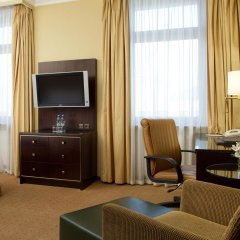 Гостиница Hilton Москва Ленинградская 5* Представительский номер с различными типами кроватей фото 4