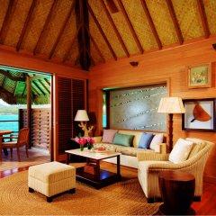 Отель Four Seasons Resort Bora Bora 5* Бунгало с различными типами кроватей фото 8