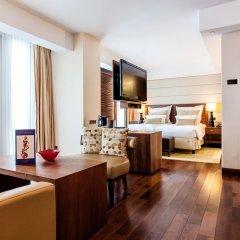 Отель Jumeirah Frankfurt 5* Номер Делюкс с различными типами кроватей фото 7