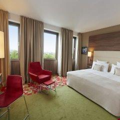 Отель Meliá Düsseldorf 4* Номер Премиум разные типы кроватей фото 2
