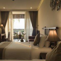 Отель Silk Sense Hoi An River Resort 4* Номер Делюкс с различными типами кроватей