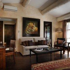 Отель Hôtel Saint Amour La Tartane 5* Номер Делюкс с различными типами кроватей
