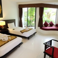 Отель Nai Yang Beach Resort & Spa 4* Улучшенный номер с различными типами кроватей фото 2