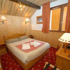 Отель Le Sherpa Val Thorens Hôtels-Chalets de Tradition 3* Номер категории Эконом с различными типами кроватей