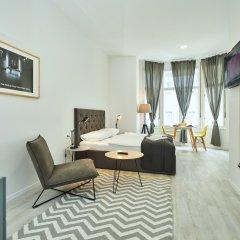Апартаменты Irundo Zagreb - Downtown Apartments Студия с различными типами кроватей