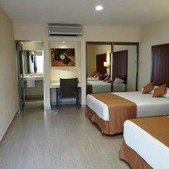 Отель Terracaribe Hotel Мексика, Канкун - отзывы, цены и фото номеров - забронировать отель Terracaribe Hotel онлайн комната для гостей фото 4
