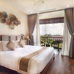Отель Silk Sense Hoi An River Resort 4* Люкс с различными типами кроватей