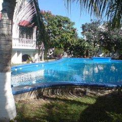 Отель Mansion Giahn Bed & Breakfast Мексика, Канкун - отзывы, цены и фото номеров - забронировать отель Mansion Giahn Bed & Breakfast онлайн открытый бассейн фото 3