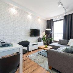 Отель YourSecondFlat Siedmiogrodzka Улучшенные апартаменты с различными типами кроватей