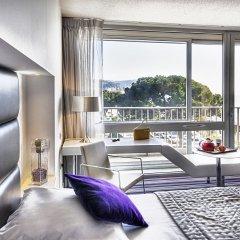 Отель Mercure Nice Promenade Des Anglais 4* Улучшенный номер с различными типами кроватей фото 10