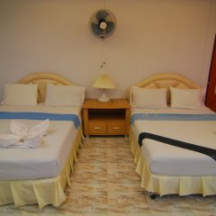 Отель Lanta Paradise Beach Resort 3* Стандартный семейный номер с двуспальной кроватью