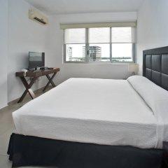 Отель Suites Malecon Cancun комната для гостей фото 4