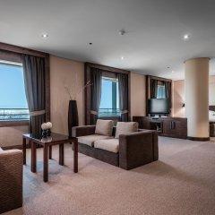 Отель Eurostars Suites Mirasierra 5* Люкс повышенной комфортности разные типы кроватей