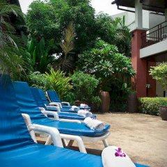 Отель First Resort Albergo открытая веранда