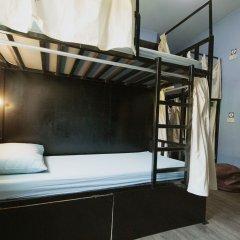 Counting Sheep Hostel Кровать в общем номере с двухъярусной кроватью