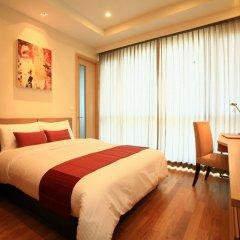 Отель 39 Boulevard Executive Residence 4* Улучшенные апартаменты с различными типами кроватей