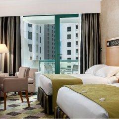 Отель Hilton Dubai Jumeirah 5* Представительский номер с различными типами кроватей фото 12