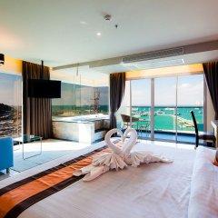 Отель Balihai Bay Pattaya 3* Номер Делюкс с различными типами кроватей фото 2