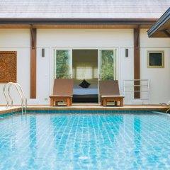 Отель Two Villas Holiday Oriental Style Layan Beach комната для гостей фото 10