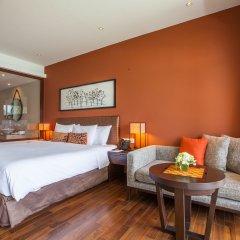 Отель Crowne Plaza Phuket Panwa Beach 5* Улучшенный номер с различными типами кроватей фото 3