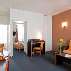 Отель Aparthotel Adagio access Paris Philippe Auguste 3* Апартаменты с различными типами кроватей