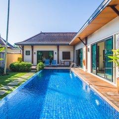 Отель Two Villas Holiday Oriental Style Layan Beach комната для гостей фото 16