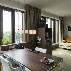 Отель Meliá Düsseldorf 4* Люкс разные типы кроватей фото 11