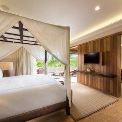 Отель Conrad Bora Bora Nui 5* Люкс с различными типами кроватей
