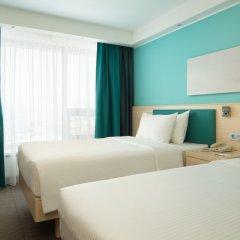 Гостиница Hampton by Hilton Moscow Strogino (Хэмптон бай Хилтон) 3* Стандартный номер разные типы кроватей фото 2