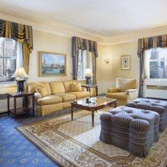 Отель Waldorf Astoria New York Нью-Йорк гостиная