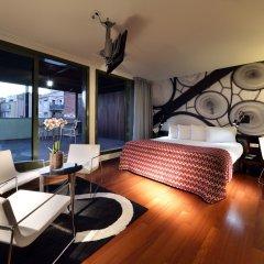 Отель Eurostars BCN Design 5* Улучшенный номер с различными типами кроватей фото 3