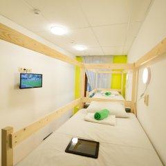 Мини-отель City-hostel Кровать в мужском общем номере с двухъярусной кроватью