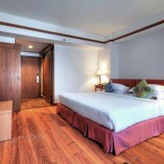 Отель Silom City 3* Номер Делюкс с различными типами кроватей