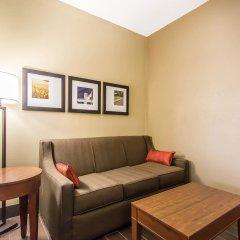 Отель Comfort Suites Effingham 2* Люкс с различными типами кроватей
