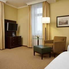 Гостиница Hilton Москва Ленинградская 5* Представительский номер с различными типами кроватей фото 3