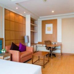 Отель Jasmine City 4* Студия Делюкс с разными типами кроватей фото 12