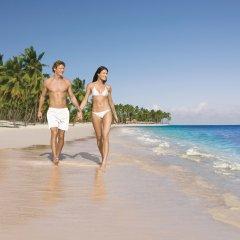 Отель Dreams Palm Beach Punta Cana - Luxury All Inclusive Доминикана, Пунта Кана - отзывы, цены и фото номеров - забронировать отель Dreams Palm Beach Punta Cana - Luxury All Inclusive онлайн пляж