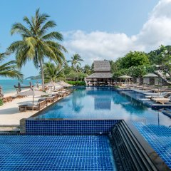 Отель InterContinental Samui Baan Taling Ngam Resort собственный двор