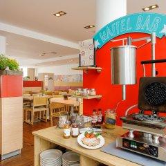 Отель ibis Muenchen City Nord место для завтрака