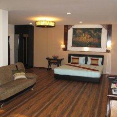 Отель QG Resort 3* Стандартный семейный номер с двуспальной кроватью