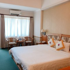 Отель Cap Saint Jacques 3* Улучшенный номер с двуспальной кроватью