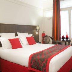Отель Hôtel California Champs Elysées комната для гостей фото 13