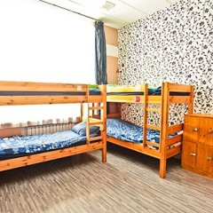Хостел Наполеон Кровать в общем номере с двухъярусной кроватью фото 24