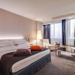Гостиница Radisson Blu Belorusskaya комната для гостей фото 9